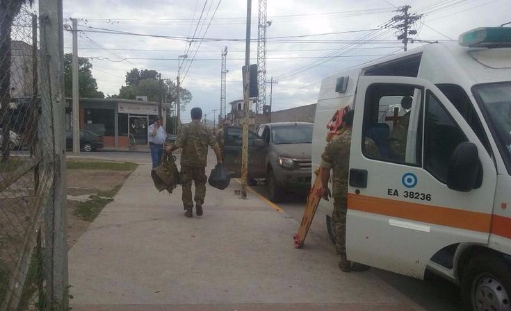 Tragedia: muere militar olavarriense durante un simulacro y hay otros cuatro heridos