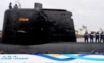 Detectan señales que podrían ser del submarino perdido