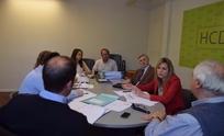 Concejales se reunieron con Bezzoni por el Presupuesto