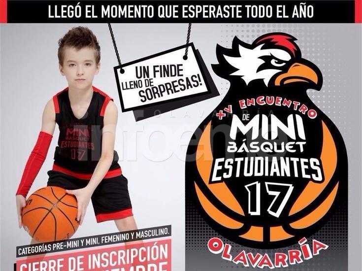 """Empieza la cuenta regresiva para el XV Encuentro de Mini Básquet """"bataraz"""""""