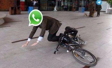 Se cayó Whatsapp