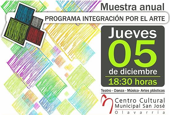 Muestra Anual del Programa de Integración por el Arte