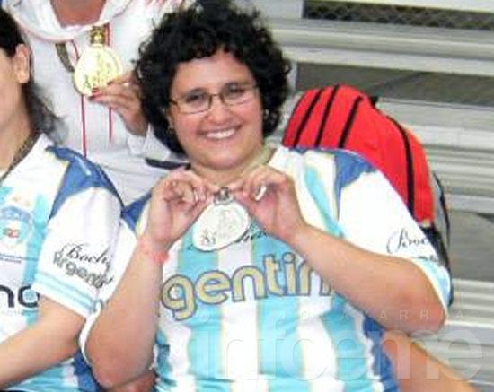 María Victoria Maíz, ternada a los Olimpia