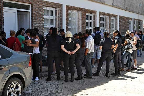 Policías respaldaron a Coria durante la indagatoria