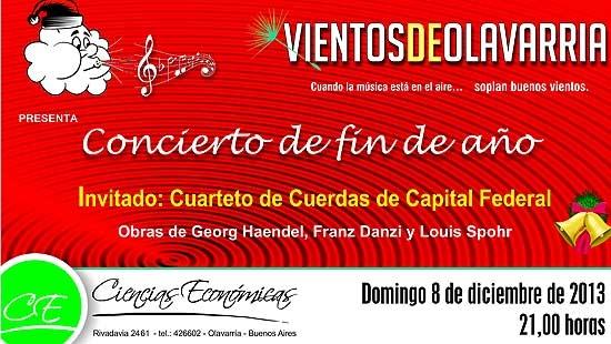 """""""Vientos de Olavarría"""" prepara el concierto de fin de año"""