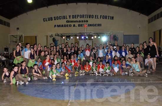 El show de patín reunió a 600 personas