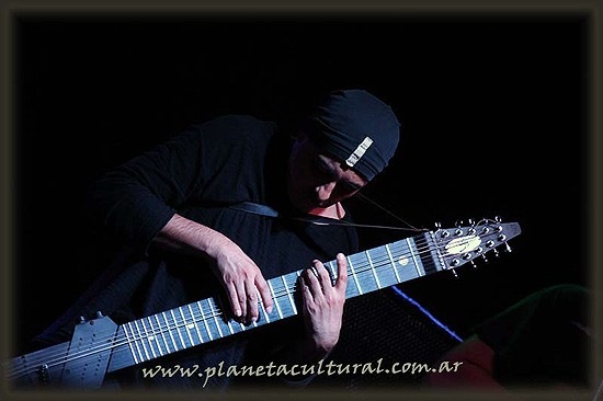Guillermo Cides dio un concierto de lujo en Olavarría