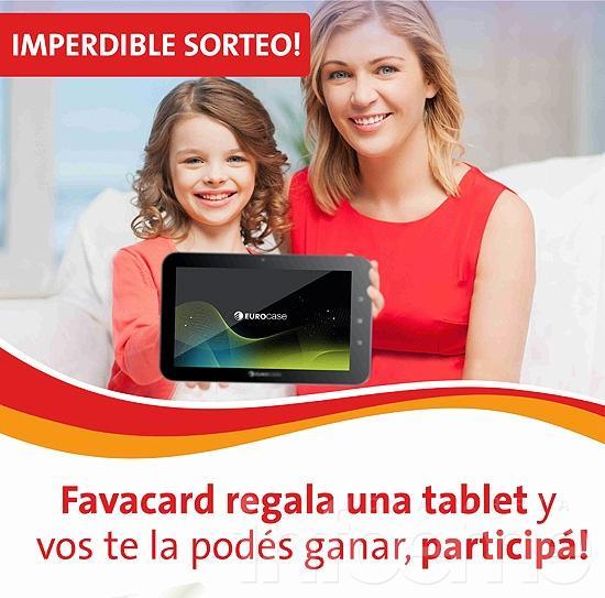 Tarjeta Favacard despide el año con el sorteo de una tablet