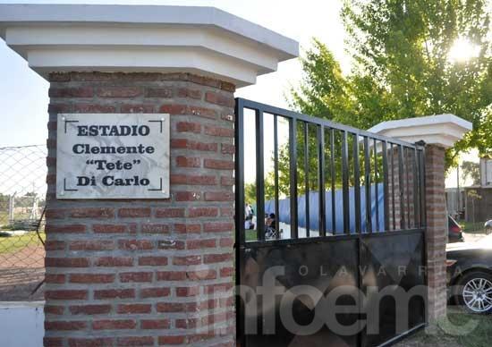 """Ahora sí, el estadio de Embajadores se llama Clemente """"Tete"""" Di Carlo"""