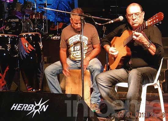 En Peppino Luongo sigue la música con el Cuarteto Rezongón