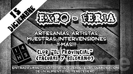 """Expo-Feria en el club """"El Provincial"""""""