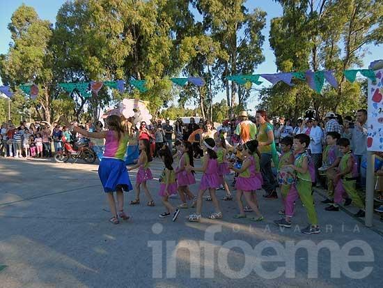 El jardín de Infantes 914 celebró con un Corso