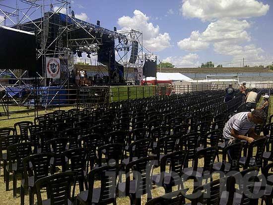 """Comienzan los espectáculos en el escenario mayor """"Horacio Guaraní"""""""