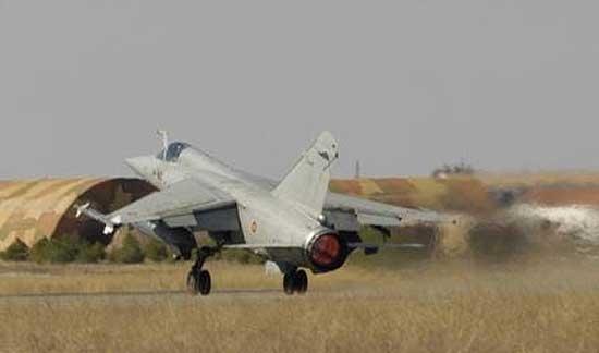 Los extraños ruidos del martes fueron por aviones militares
