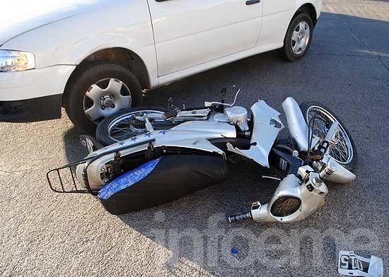 Choques en moto, la principal causa de muerte y discapacidad en el tránsito