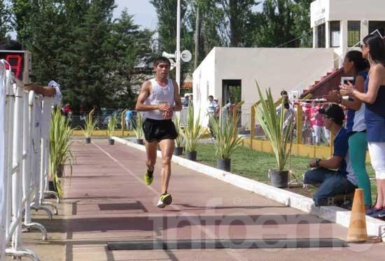 Fernández terminó tercero en Tandil