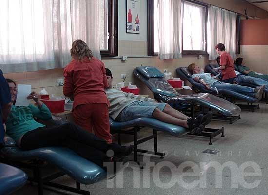 """Campaña de donación: """"Nunca ha faltado sangre en Olavarría"""""""