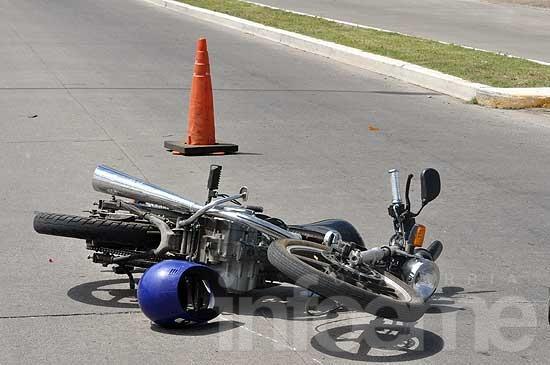 Dos motociclistas heridos en accidentes
