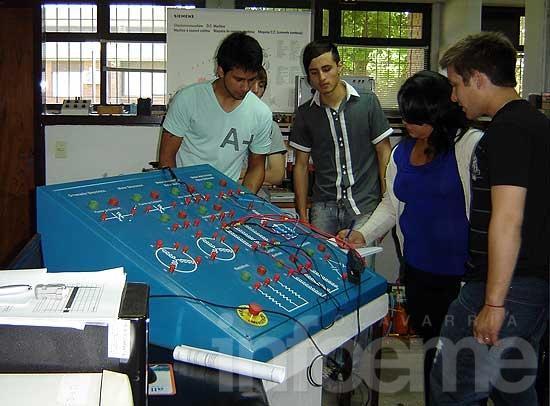 Alumnos de la Escuela Técnica 2 realizaron prácticas en Ingeniería