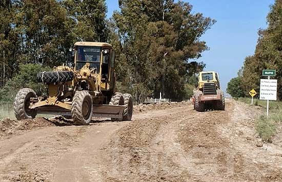 Se licitaron obras de mejoramiento de caminos rurales