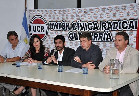 Asumió la nueva comisión de la UCR Olavarría