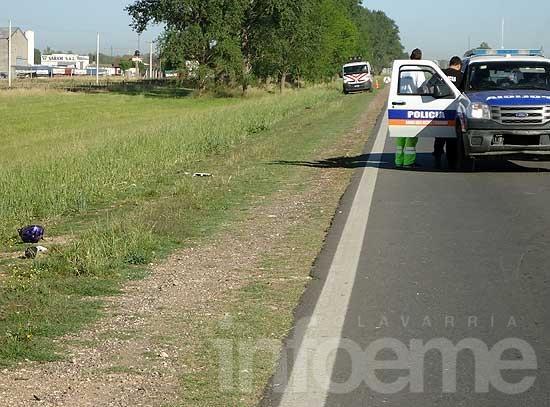 Murió el ciclista que fue arrollado en la ruta 226