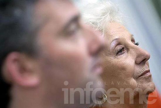 """Estela de Carlotto: """"Siempre pensé que nos cruzamos sin conocernos"""""""
