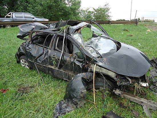 Un herido en violento vuelco en autopista Fortabat