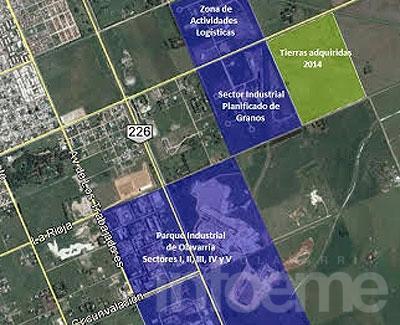 Municipio adquirió tierras en la Zona de Actividades Logísticas