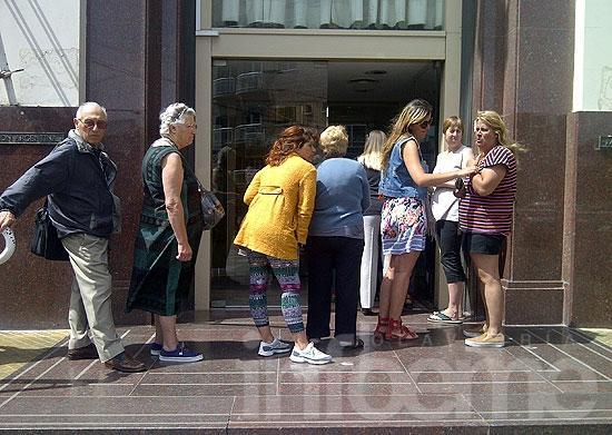 Pese a la conciliación, rige el paro en Banco Nación