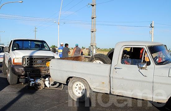Un nene herido en accidente de tránsito