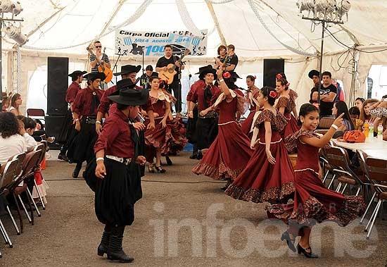 Tradición para todo el país en el Festival de Doma y Folclore