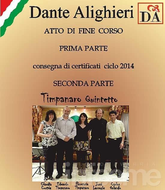 Concierto del Quinteto Timpanaro