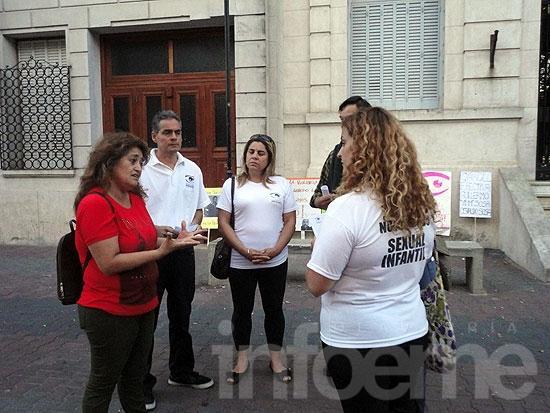 Realizaron manifestación contra el abuso sexual infantil