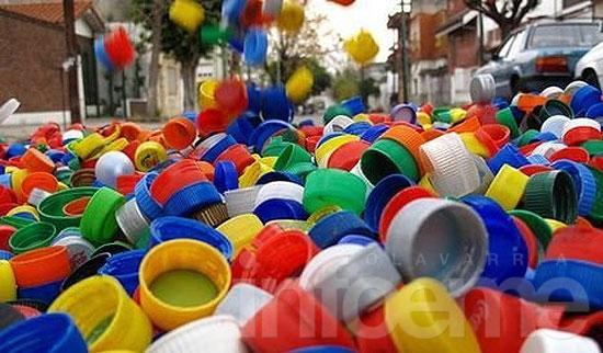 Olavarría adhiere al programa de reciclado de tapitas del Hospital Garrahan