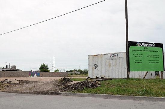 Comenzaron los trabajos previos para la construcción del Servicio Territorial Nº6