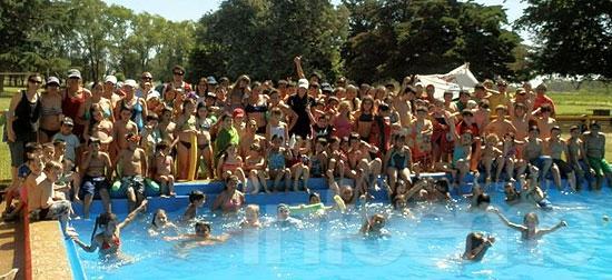 Escuela de verano en el CEF Nº 44
