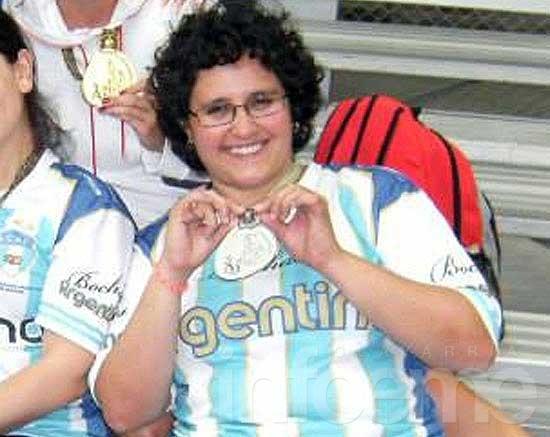 Victoria Maiz estuvo ternada en los Premios Olimpia