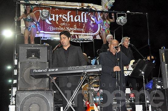 Los Marshalls celebran sus 50 años en el Paseo Mendía