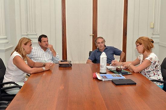 Szelagowski y ruralistas analizaron la situación del trigo