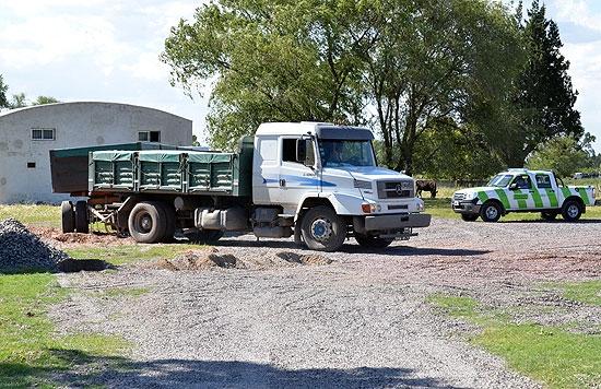 Detectan camiones con exceso de carga