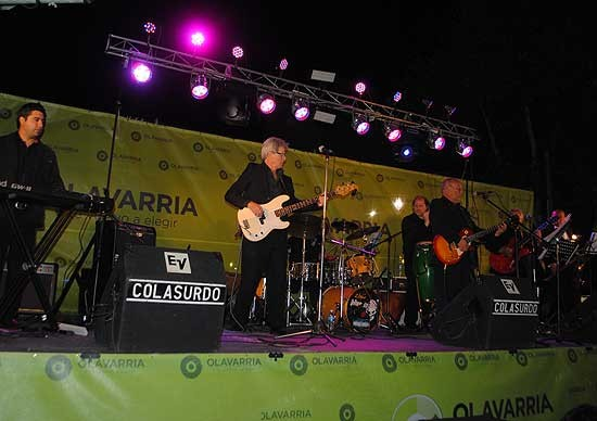 Con un recital al aire libre, Los Marshalls festejaron 50 años