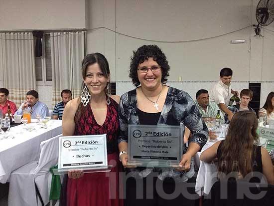 Premios Roberto Bo: Victoria Maíz es la Deportista del Año