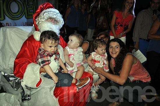 En Navidad Papá Noel alegró a toda Colonia Hinojo