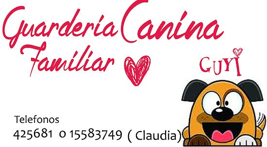 "Guardería canina familiar ""Guyi"""