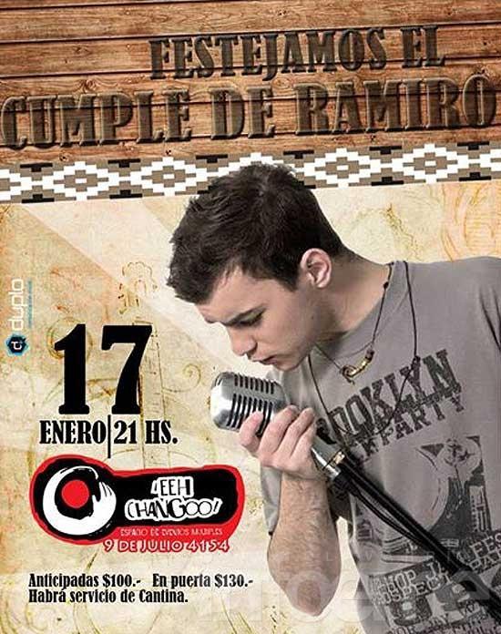 Festejan el cumpleaños de Ramiro Hittaller