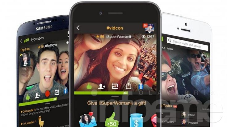 YouNow, la competencia de YouTube