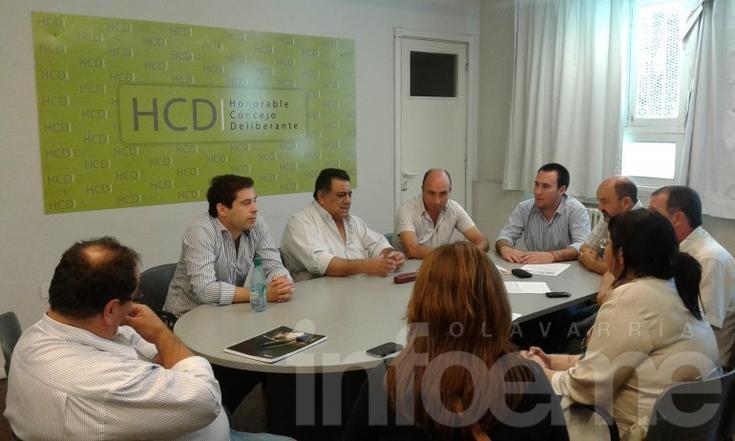 Ley de Medios: reunión entre concejales y miembros del AFSCA