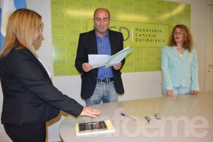 Cecilia Krivochen asumió como nueva concejal en el bloque Cambiemos