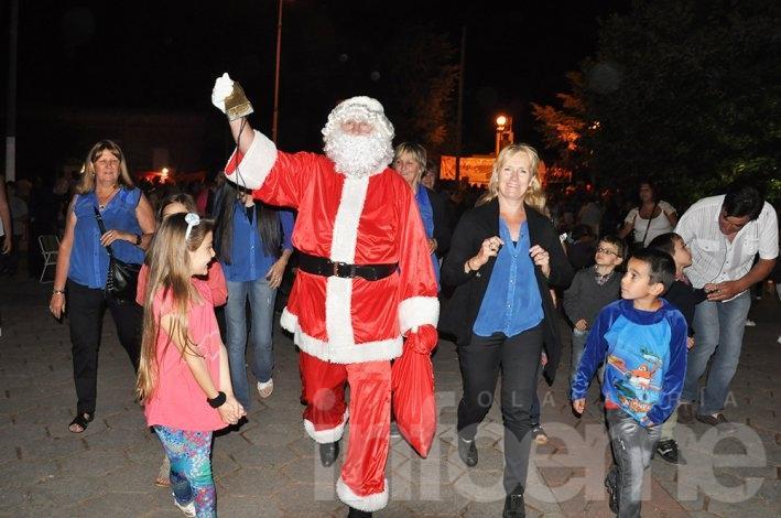 A Loma Negra también llega Papá Noel